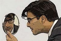 O jovem rico e o espelho