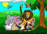 Concurso dos animais