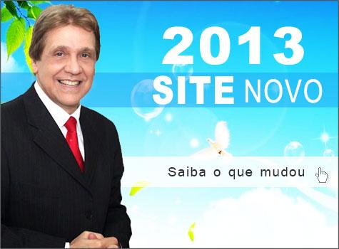 O novo site de 2013 está no ar, o que você achou?