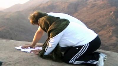 Oração no Monte Sinai e Muro das Lamentações